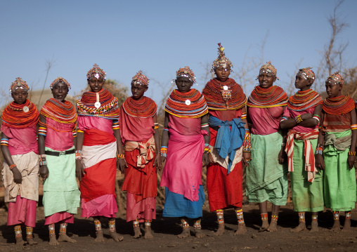 Rendille tribe girls , Kenya