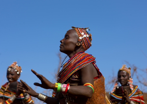 Rendille tribe dance, Kenya