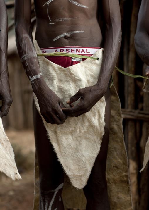 Tharaka tribe people with traditional clothing, Laikipia County, Mount Kenya, Kenya