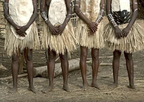 Tharaka tribe women skirts,  Kenya
