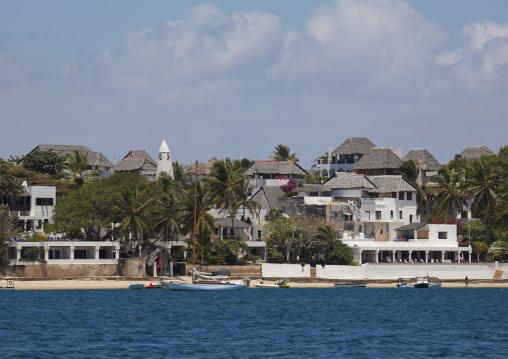 Shela view from the sea, Lamu, Kenya