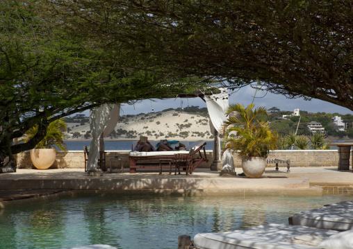 The majlis hotel pool, Lamu County, Lamu, Kenya