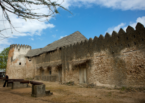 The siyu fort on pate island, Kenya