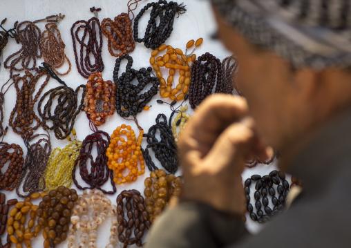 Prayer Beads Shop, Erbil, Kurdistan, Iraq