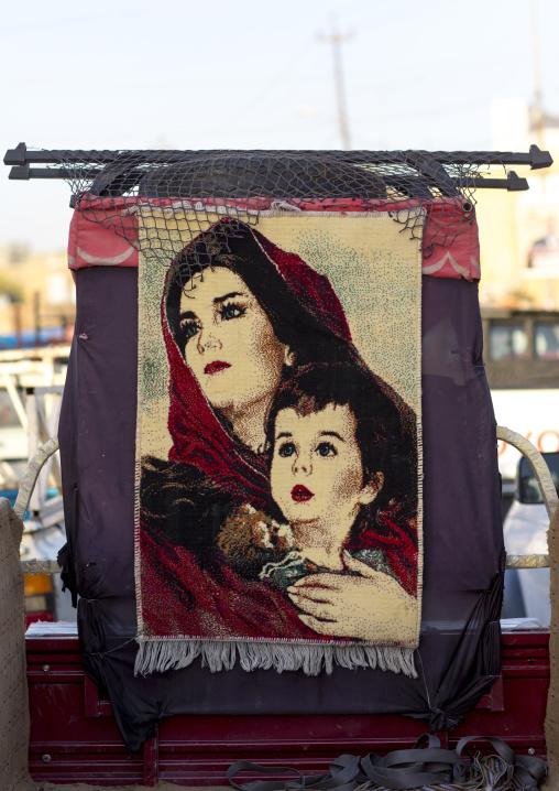 Carpet, Erbil, Kurdistan, Iraq