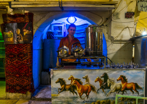 Tea Shop In The Old Bazar, Koya, Kurdistan, Iraq