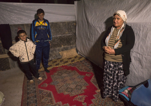Yezedi Refugees From Sinjar, Duhok, Kurdistan, Iraq