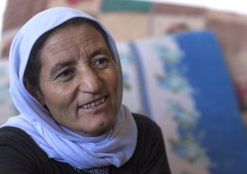 Yezidi Refugee Woman Displaced From Sinjar, Duhok, Kurdistan, Iraq