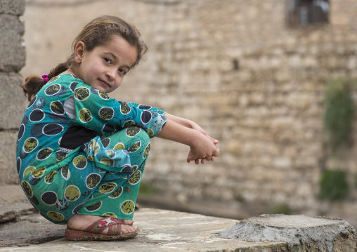 Yezedi Refugee From Sinjar Living In Lalesh Temple, Kurdistan, Iraq