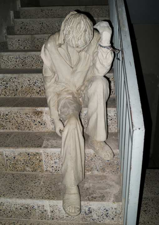 Statue In Amna Sur Museum In The Red Security Building, Suleymanyah, Kurdistan, Iraq
