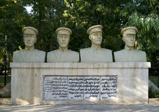 Statues Of Kurdish Heroes, Suleymanyah, Kurdistan, Iraq