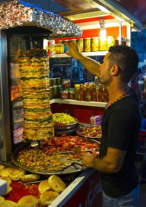Kebab Restaurant, Suleymanyah, Kurdistan, Iraq