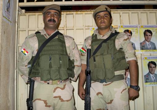 Soliders, Suleymanyah, Kurdistan, Iraq