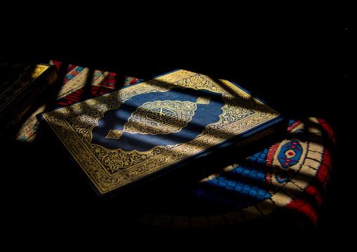 The koran book with sun rays on it, Beqaa Governorate, Baalbek, Lebanon