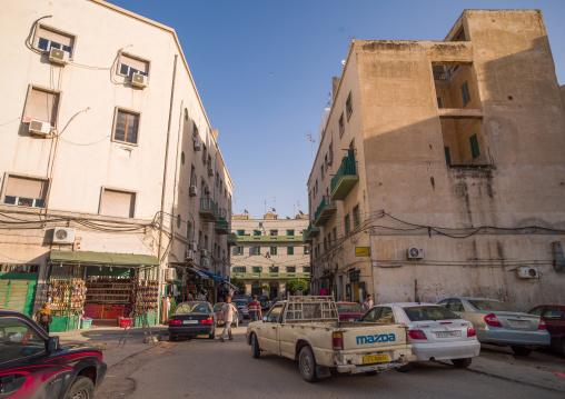 Building from the italian settlement, Tripolitania, Tripoli, Libya