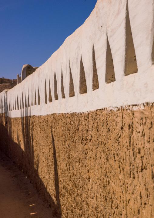 Narrow street in the oasis, Tripolitania, Ghadames, Libya