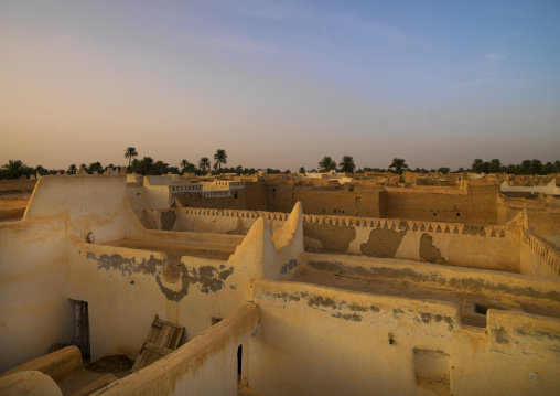 Roofs of the old town, Tripolitania, Ghadames, Libya