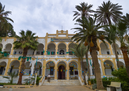 Official building from the italian settlement, Cyrenaica, Benghazi, Libya