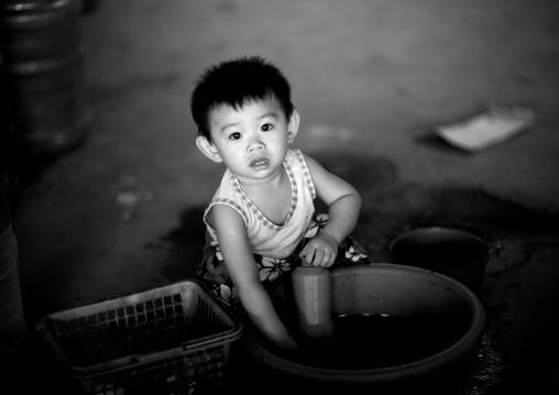 Baby boy, Vientiane, Laos