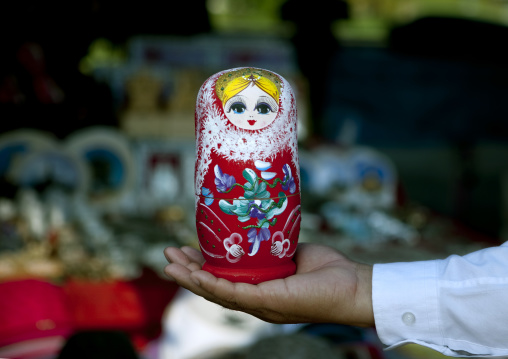 Russian doll made in china, Vientiane, Laos