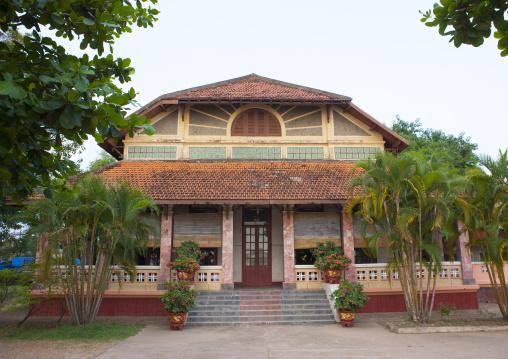 Old french colonial house, Thakhek, Laos