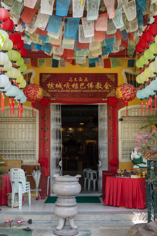 Chinese Buddhist Temple, Penang Island, George Town, Malaysia