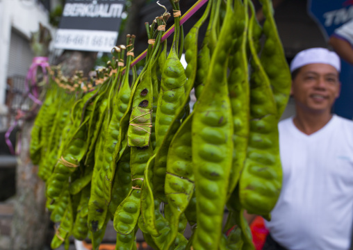 Peas In A Market, Malacca, Malaysia