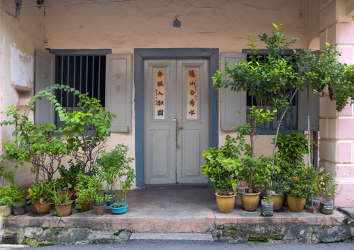 Old Colonial House, Malacca, Malaysia