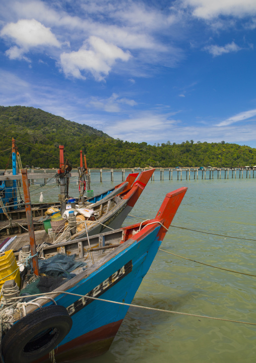 Fishermen Boats, Langkawi, Malaysia