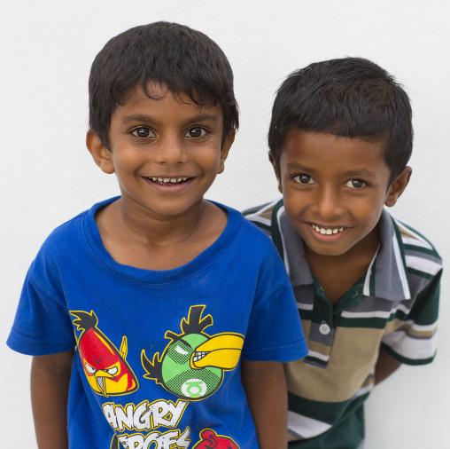Smiling Kids, Eydhafushi, Baa Atoll, Maldives