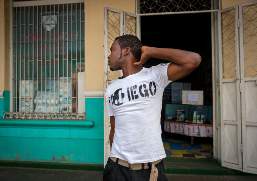 Man In The Street, Maputo, Maputo City, Mozambique