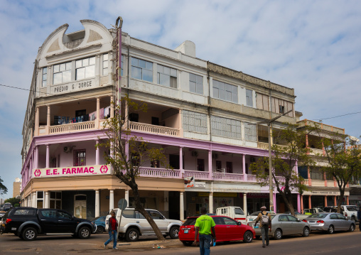 Old Portuguese Colonial Building, Maputo, Mozambique