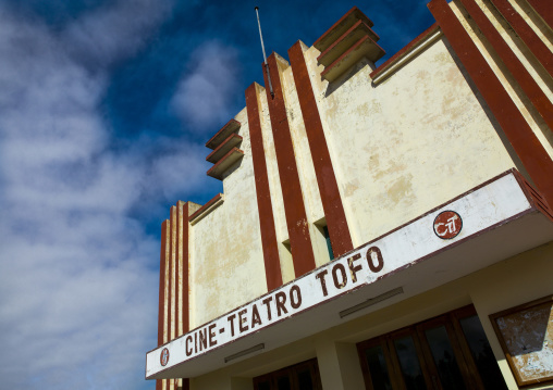 Old Tofo Movie Teathre, Inhambane, Mozambique