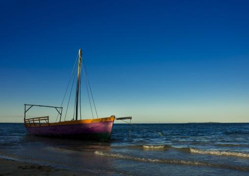 Dhow On The Beach, Vilanculos, Inhambane province, Mozambique
