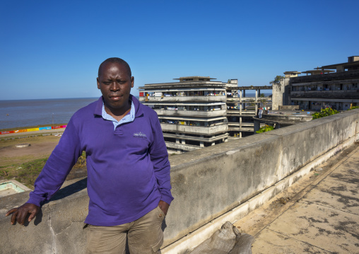 Chief At The Grande Hotel Slum, Beira, Sofala Province, Mozambique