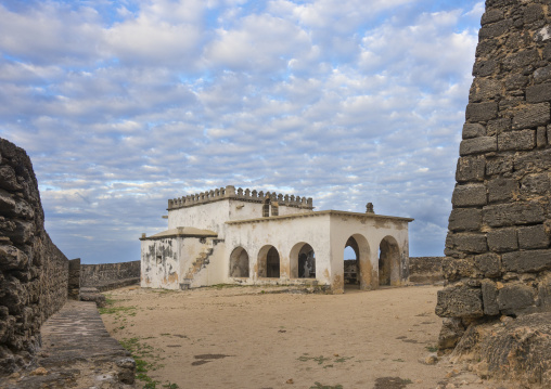 Church Of Nossa Senharo Baluarte, Fortress Of Sao Sebastao, Island Of Mozambique, Mozambique