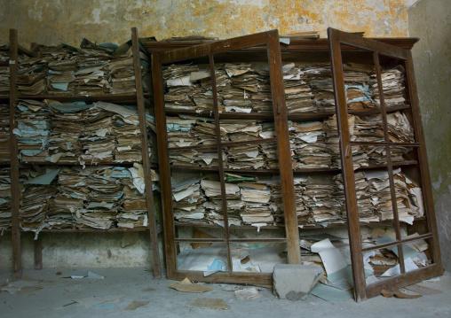 Archives Inside Fortaleza De Sao Joao Baptista, Ibo Island, Mozambique