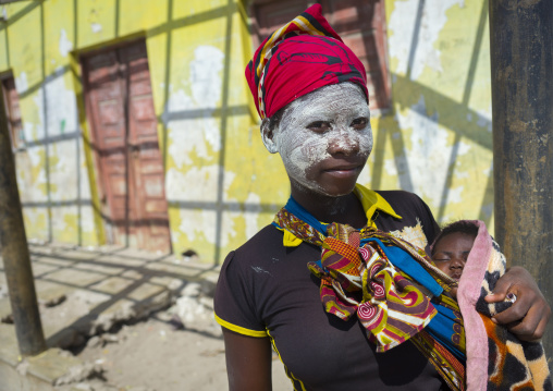 Woman With Muciro Face Mask, Ibo Island, Mozambique