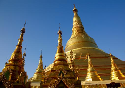 Shwedagon Pagoda, Rangoon, Myanmar