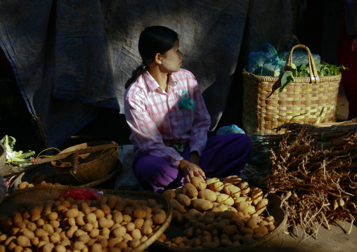 Bagan market, Myanmar
