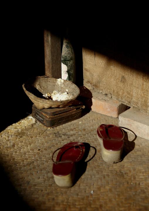 Traditional Shoes In Bagan, Myanmar
