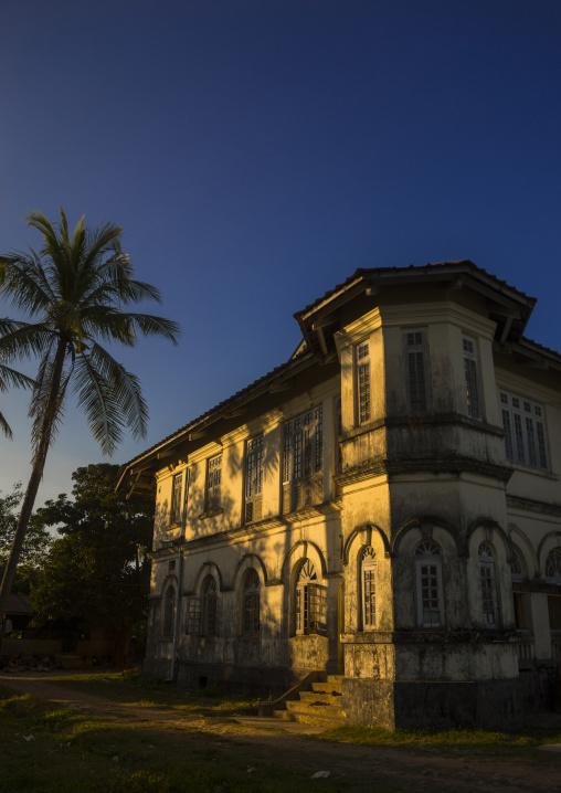 Monastery building, Sittwe, Myanmar