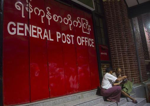 General post office, Yangon, Myanmar