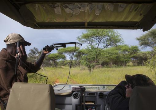 Rangers Tracking The Big Cats, Okonjima, Namibia