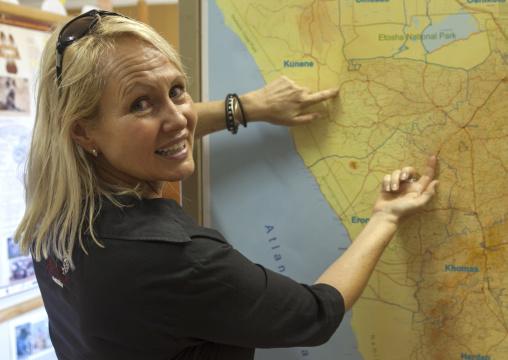Donna Hanssen Rrom Africat Foundation, Okonjima, Namibia