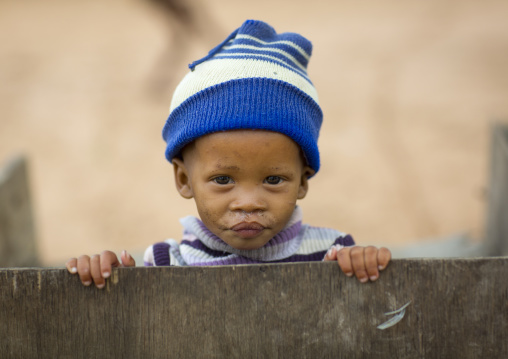 Bushman Child Boy, Tsumkwe, Namibia