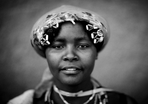 Miss Marianne A Beggar Woman And Refugee Of The Angolan Civil War, Opuwo, Namibia