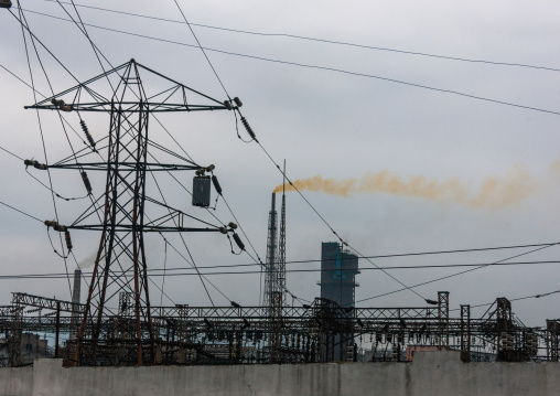 Chemical factory complex, South Hamgyong Province, Hamhung, North Korea