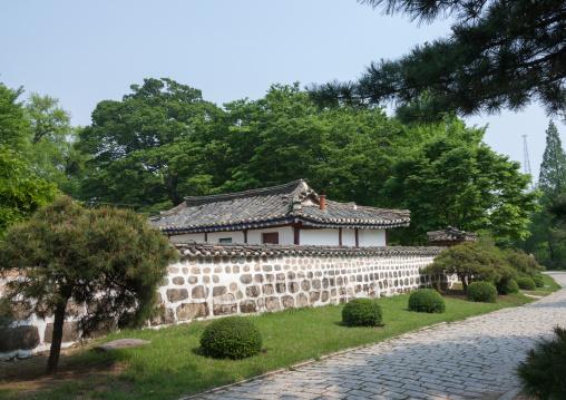 The Koryo museum formerly songgyungwan confucian academy, North Hwanghae Province, Kaesong, North Korea