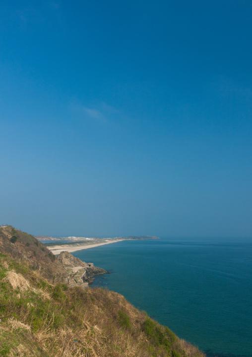 Landscape of the seaside, Kangwon Province, Wonsan, North Korea